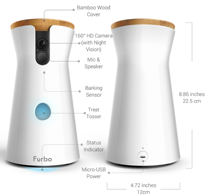 Furbo Dog Camera Specifications